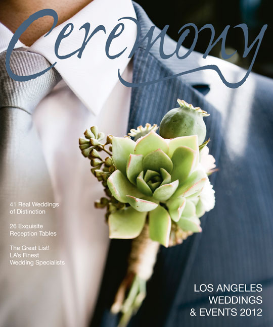 Ceremony Magazine January February 2012