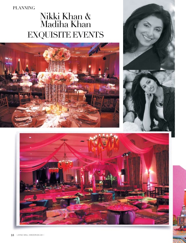 revelry event designers featured in living well magazine