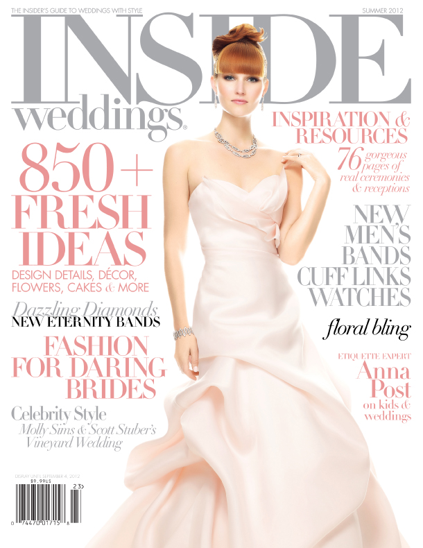 inside weddings cover june 2012