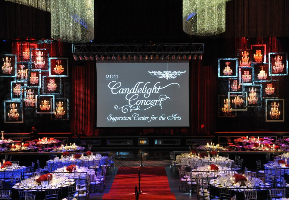 candlelight concert with revelry event designers