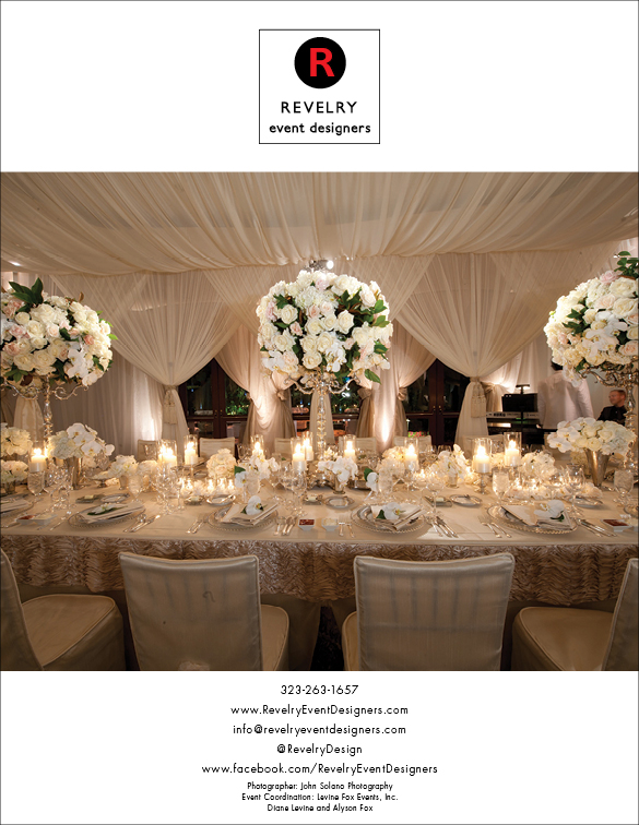 revelry event designers and levine fox events
