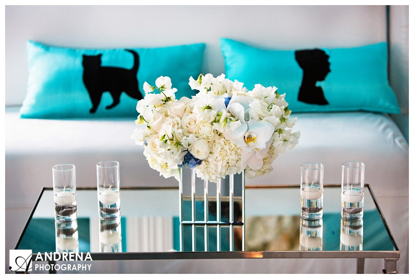 Tiffany Blue and White Party