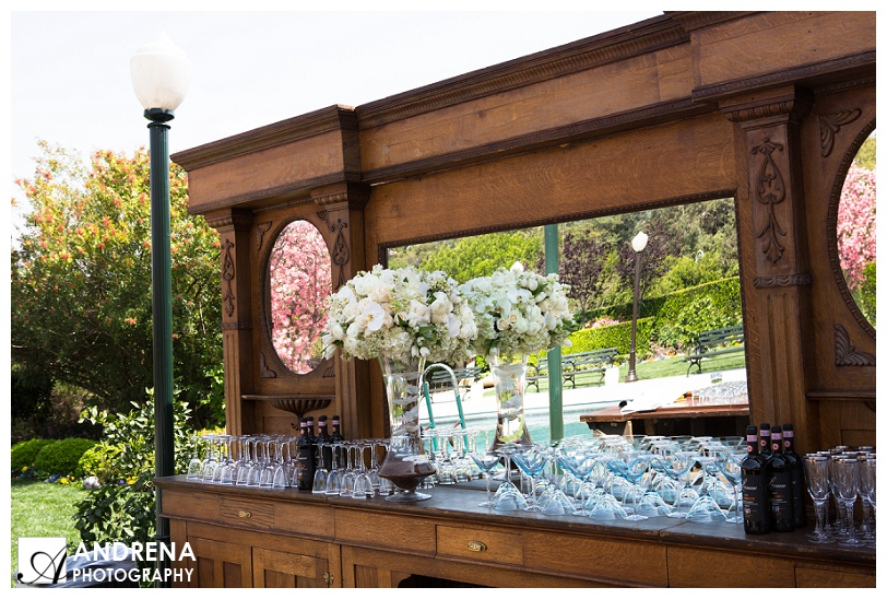 Wooden Bar for Event