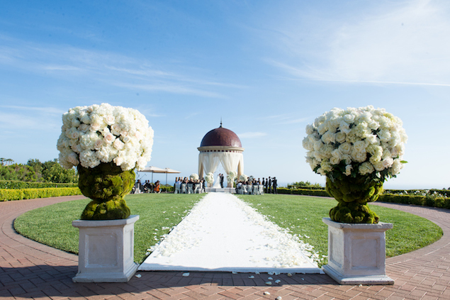 White Pelican Hill Wedding