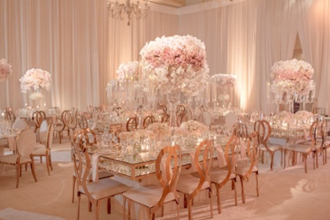 Rose Gold Engagement Party Revelry Event Designers