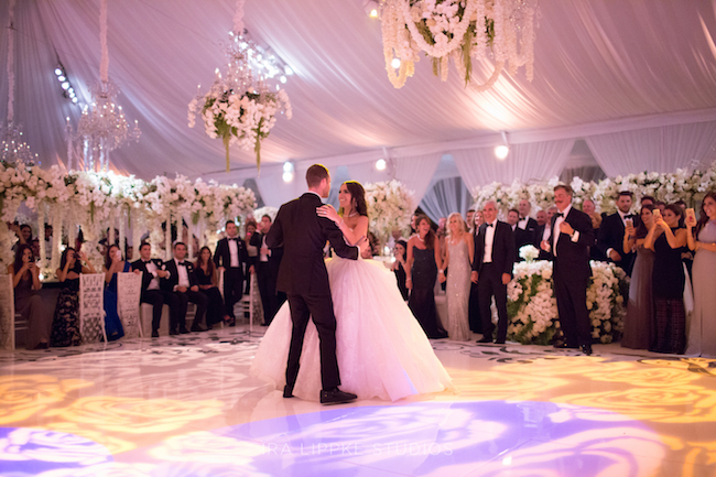 bride and groom, wedding, first dance