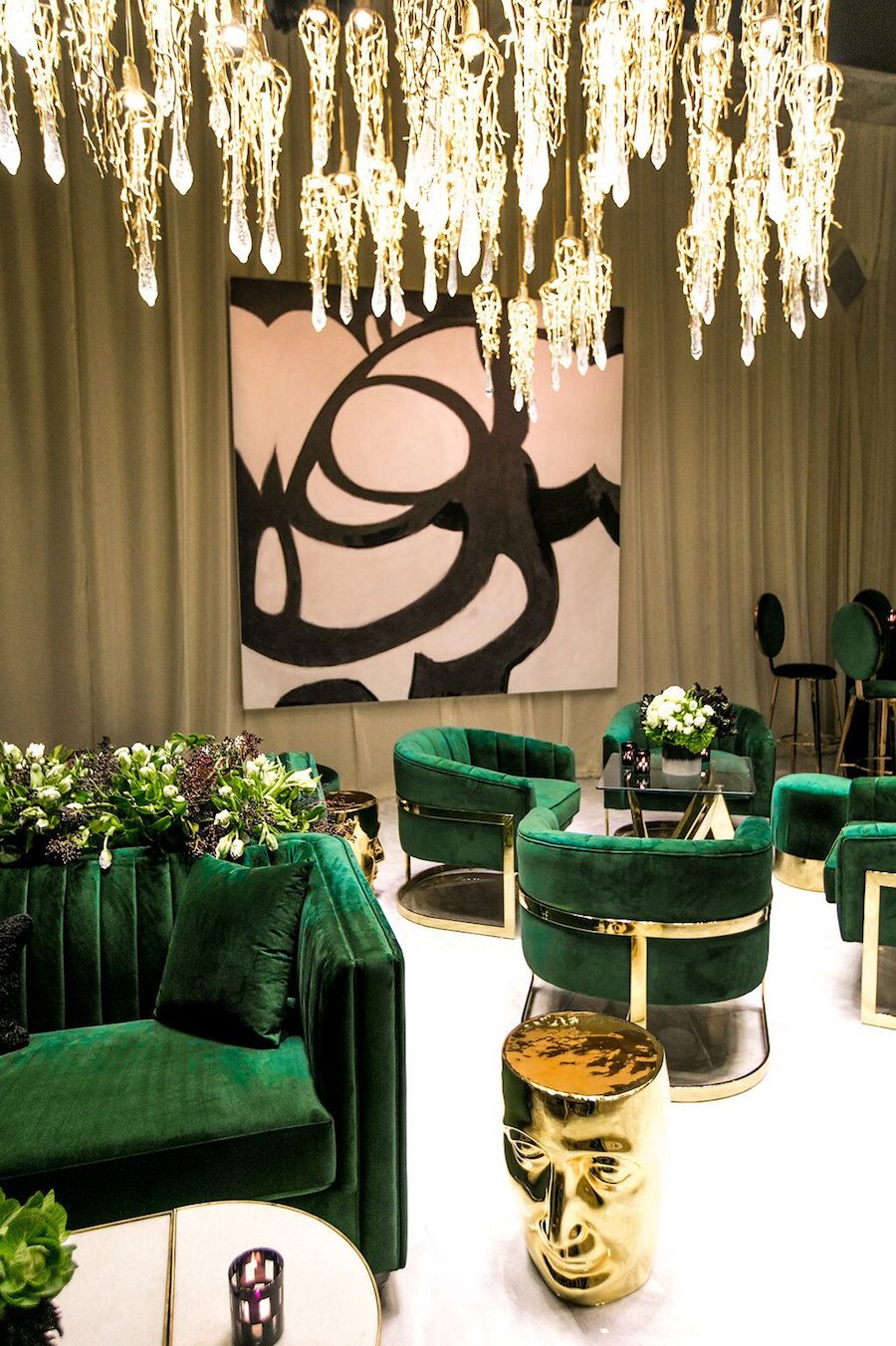 revelry event designers, anniversary party, sonia sharma events, katie beverly, celios design
