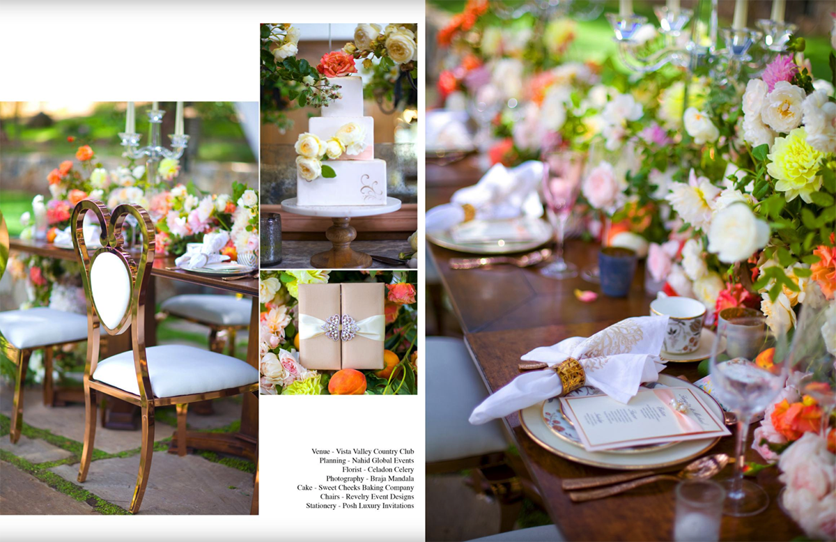 country chic, revelry event design, nahids global event